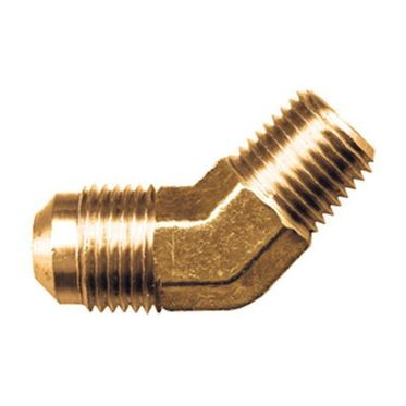 Brass 45° Flare Elbow 3/8