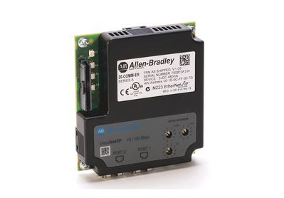 Rockwell Automation 20-COMM-ER PowerFlex® 2-Port Class 7 Ethernet/IP Adapter Communications Module