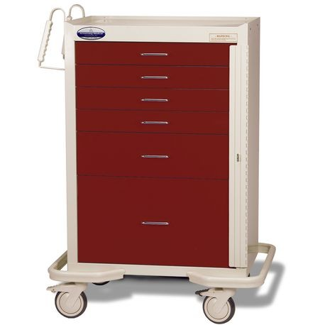 Standard Steel Two-Tone Emergency Carts