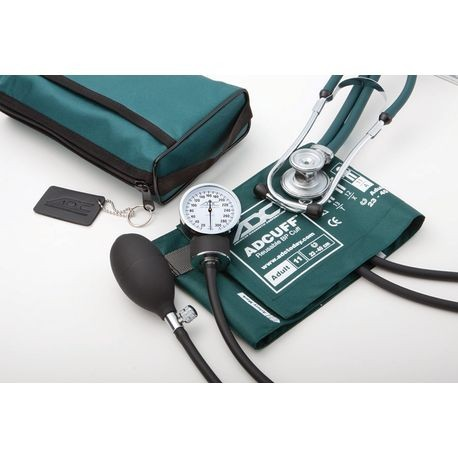 Stethoscope and Aneroid Sphyg Combo Set, Black