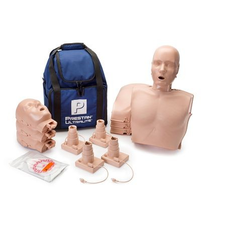 Ultralite® CPR Manikin with Feedback 4 Pack