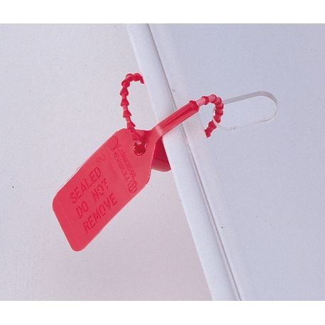 Pull-Tite Seals, Red Polypropylene
