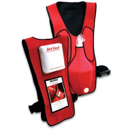 ActFast™ Anti Choking Trainer 4 Pack, Red