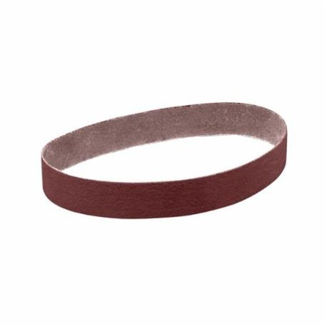 3M 341D Narrow Abrasive Belt, 2 in W x 48 in L, P180/Very Fine, Aluminum Oxide Abrasive, X-Weight Cloth Backing