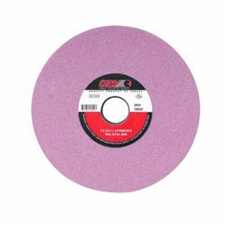 CGW58003 Straight Surface Grinding Wheel, 7 in Dia x 1/4 in THK, 1-1/4 in Center Hole, 100 Grit, Fine Grade, Aluminum Oxide Abrasive