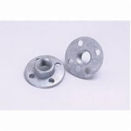 3M 05621 Disc Retainer Nut, 5/8-11 INT, 1/2 in L For Use With 3M Disc Pad Face Plates and Disc Pad Hubs