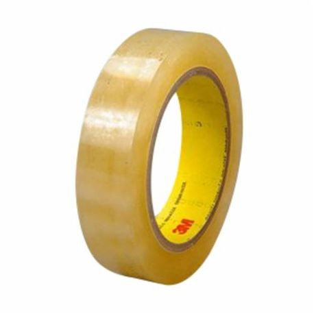 3M 021200-05885 Removable Double Coated Repositionable Tape, 1296 in L x 3/4 in W, 3 mil THK, Acrylic Adhesive, UPVC Backing, Transparent