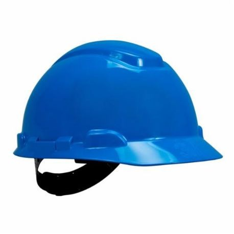 3M 078371-64189 H-703P Non-Vented Short Brim Hard Hat, HDPE, 4-Point Suspension, ANSI Electrical Class Rating: Class C, E and G, ANSI Impact Rating: Type 1, Pinlock Adjustment