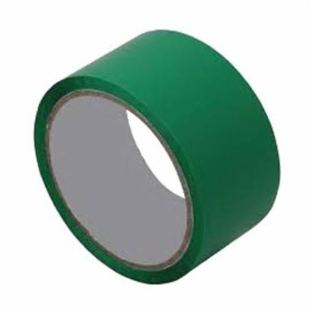 3M 021200-05248 Film Tape, 2 in W x 144 yd Roll L, 4 mil THK, Green
