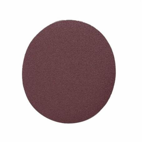 3M 348D Heavy Duty Close Coated Abrasive Disc, 3 in Dia, No Hole, 50/Coarse, Aluminum Oxide Abrasive, PSA