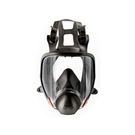 3M 6700 Reusable Full Face Respirator With CoolFlow Valve, S, Thermoplastic Elastomeric