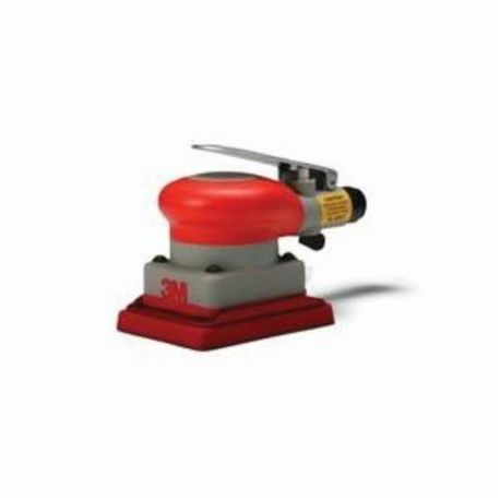 3M Non-Vacuum Pneumatic Orbital Sander, 3 x 4 in Rectangle Pad, 17 scfm, 90 psi