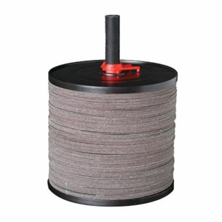 CGW48538 Standard Coated Abrasive Disc With Spindle, 7 in Dia, 7/8 in Center Hole, 24 Grit, Coarse Grade, Zirconia Alumina Abrasive, Arbor Attachment