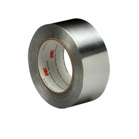 3M 051138-95069 Premium Performance Self-Wound Foil Tape, 3/4 in W x 60 yd Roll L, 4.6 mil THK, Silver