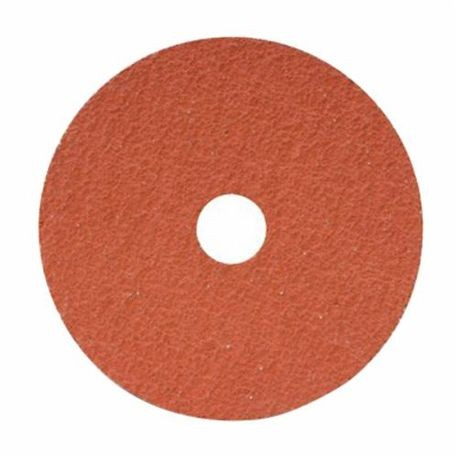 CGW48185 Standard Coated Abrasive Disc With Grinding Aid, 4-1/2 in Dia, 7/8 in Center Hole, 60 Grit, Medium Grade, Ceramic Abrasive, Arbor Attachment