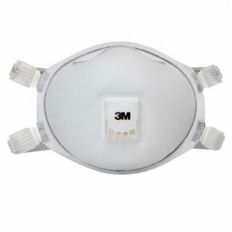 3M 8212 Disposable Particulate Welding Respirator, Standard, N95, 0.95, Adjustable Buckle Strap Headstrap, White