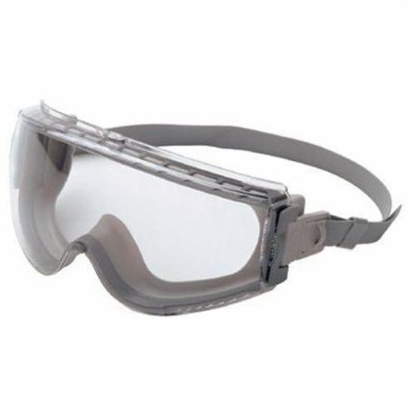 Uvex by Honeywell S3960C Stealth Indirect Vent Protective Goggles, Universal, UV Extreme Anti-Fog Clear Lens, OTG Gray Frame