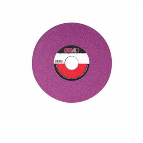 CGW59020 1-Side Recessed Surface Grinding Wheel, 12 in Dia x 2 in THK, 5 in Center Hole, 46 Grit, Medium Grade, Aluminum Oxide Abrasive