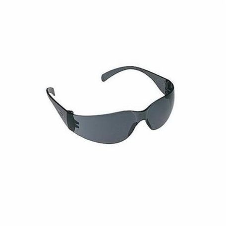 3M Virtua 078371-62107 Light Weight Protective Eyewear, Universal, Frameless Gray Frame, Anti-Fog Gray Lens