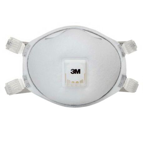 3M 8212 Particulate Respirator, Standard, N95, 95%, White
