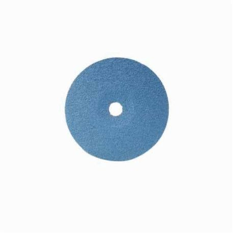 CGW48926 Flat High Performance Coated Abrasive Disc, 7 in Dia, 7/8 in Center Hole, 80 Grit, Fine Grade, Zirconia Alumina Abrasive, Arbor Attachment