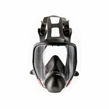 3M 6800 Reusable Full Face Respirator With Cool Flow Valve, M, Thermoplastic Elastomeric