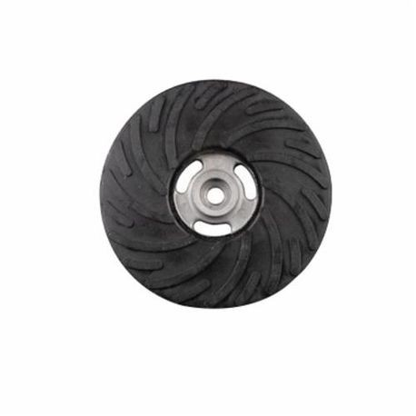 CGW49515 Medium Smooth Bore Spiral Pattern Backup Pad, 4 in Dia