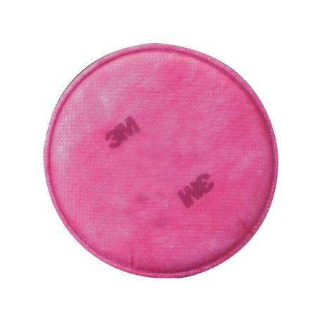 3M 051131-07000 Particulate Filter, For Use With 6000, 7000, 7800 and FF - 400 Series Respirators, P100, Non-Woven
