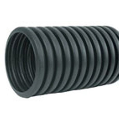 ADS Pipe 8in, 8in x 20 Non Serrated Plastic Corrugated Pipe