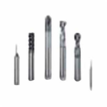 Sandvik 6424153 End Mill, 56.77 mm OAL, 3 Flutes, 1.125 mm, 1.95 mm Cutter, 6 mm Shank