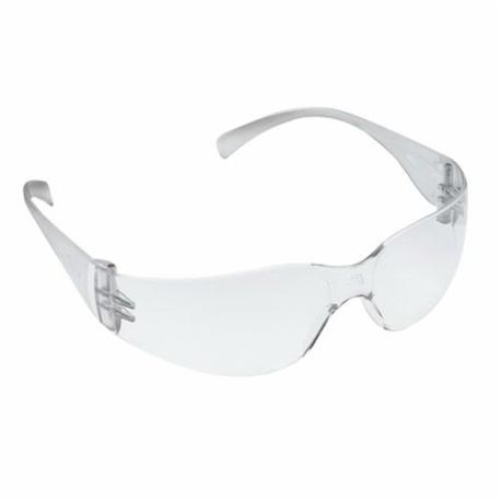 3M Virtua 11329-00000-20 Lightweight Protective Safety Glasses, Universal, Anti-Fog Clear Lens, Frameless Clear Frame