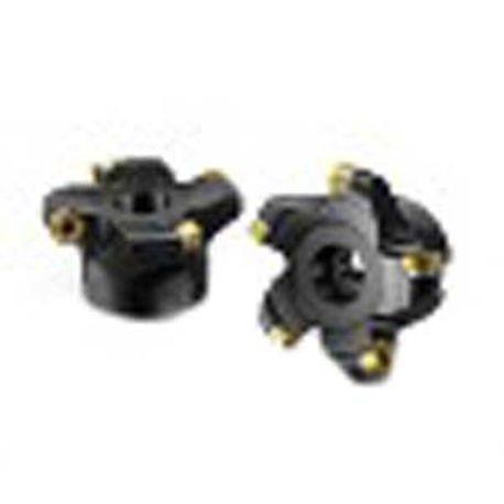 RCKT Style Pack of 10 RCKT1204M0PM,0.187 Thick Multi-Layer Coating 0.236 Corner Radius Round Sandvik Coromant COROMILL Carbide Milling Insert S40T Grade