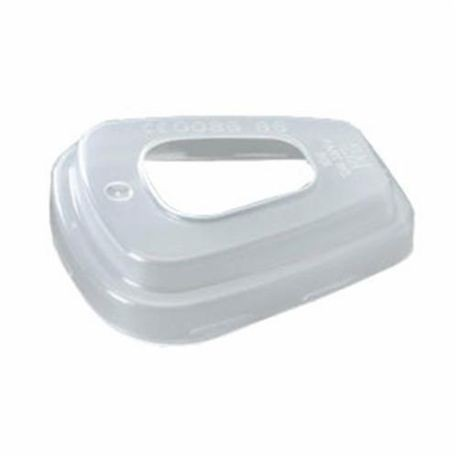 3M 501 Filter Retainer, For Use With 5000 and 6000 Series Respirators, Translucent White