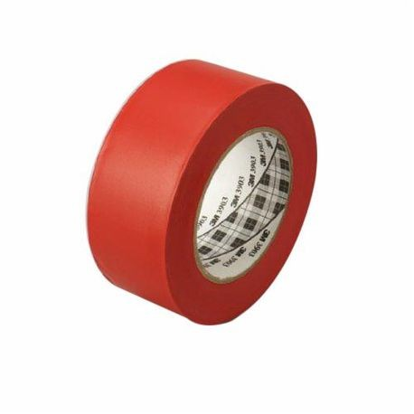 3M 051131-06992 General Purpose Duct Tape, 2 in W x 50 yd L, 6.5 mil THK, Red