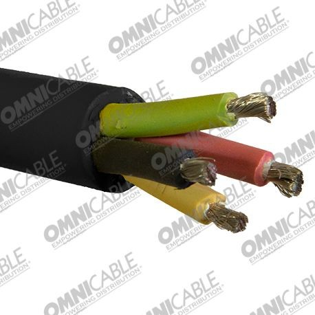 Type SO/SOOW - 6 AWG, 4 AWG, 2 AWG Cable #FCB1_1371 | OmniCable
