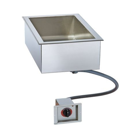"Alto-Shaam 100-HW/D6 Halo Heat Hot Food Well Unit, Drop-In, Electric, (1) 12"" x 20"" full-size pan capacity (pans NOT included), 6-3/8"" deep well"