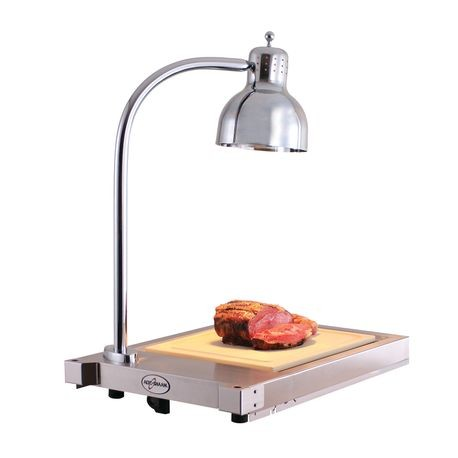 "Alto-Shaam CS-100 Hot Carving Shelf, 31"" x 18-3/8"" x 25-1/2"", indicator light, infrared lamp, (3) position HI/LOW/OFF toggle switch, cutting board"