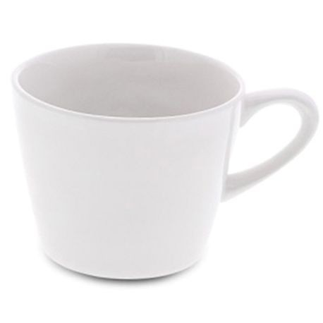 "1000 Coffee Cup, 3-1/2"" diameter, 2-3/4"" height, 7-4/5 ounce capacity, white, set of 6 (6 ea/cs), Figgjo 1060HH000"