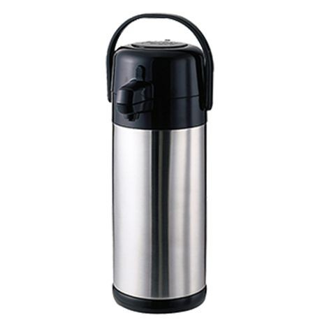 AIRPOT 3 LITER STEEL LINED S/S /BLK