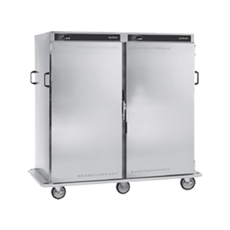 Alto-Shaam 1000-BQ2/192 Halo Heat Banquet Cart, 192 plate capacity, ON/OFF power switch, up and down arrow buttons, heat indicator light, temperature