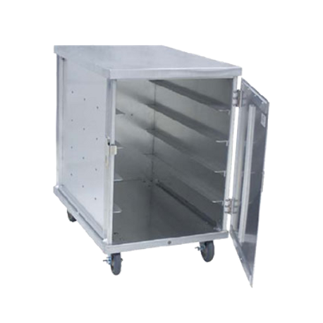 "Cres Cor 101-1520-20 Tray Delivery Cart, mobile, single compartment, non-insulated, hold (20) 15"" x 20"" pans on 5-1/2"" centers, reinforced door"