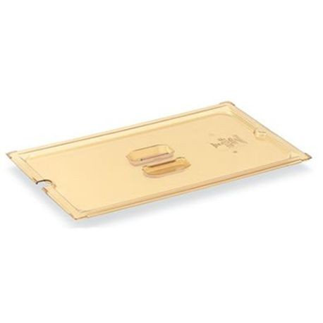 Amber slotted cover, fourth size, Vollrath 34400