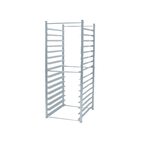 Advance Tabco RR-16-X Reach in rack, KD, aluminum, to insert in refrigerator (verify all interior dimensions of refrigerator to insure rack will fit