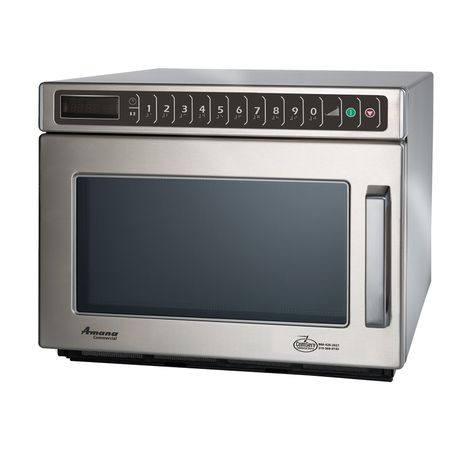 Amana HDC182 Amana Commercial Microwave Oven, 0.6 cu.ft. capacity, heavy volume, 4-stage cooking