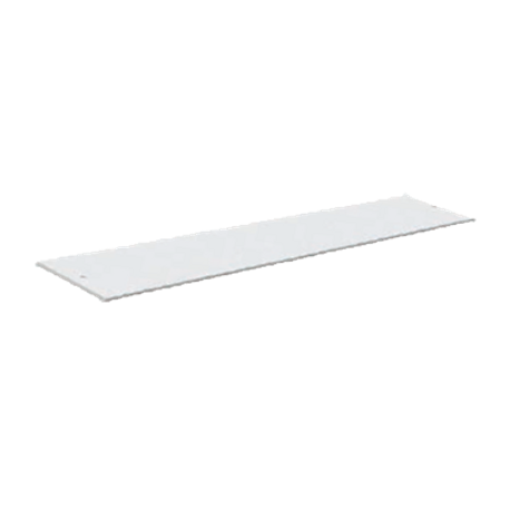"Advance Tabco SU-P-343 Replacement Cutting Board, poly, 47-1/8""W x 8D x 3/8 thick, for (3) well hot & cold food units, white"