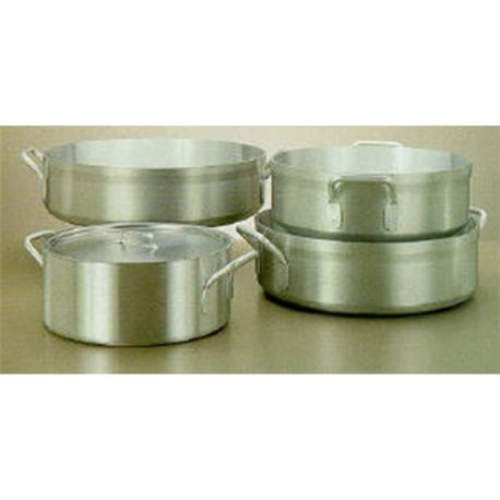 28-quart Wear-Ever Classic Select heavy-duty aluminum brazier pan, Vollrath 67228