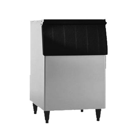"Hoshizaki B-500SF Ice Bin, 30""W, top-hinged front-opening door, 500-lb ice storage capacity, for top-mounted ice maker, stainless steel exterior"