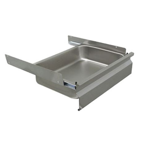 "Advance Tabco GZ-2020-X Deluxe Drawer, 20""W X 20""D X 5"" Deep Drawer Pan Insert, Galvanized"