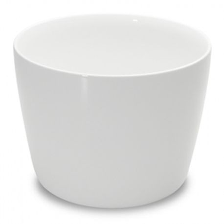 "1000 Bowl, 5-4/9"" diameter, 4"" height, 34 ounce capacity, white, set of 2 (2 ea/cs), Figgjo 1083HH000"