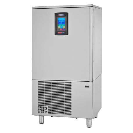 "American Panel AP10BCF100-2 HURRiCHiLL Blast Chiller/Shock Freezer, Reach-in, self-contained, (10) 12"" x 20"" x 2.5"" pan capacity, 100 lbs. from 160"